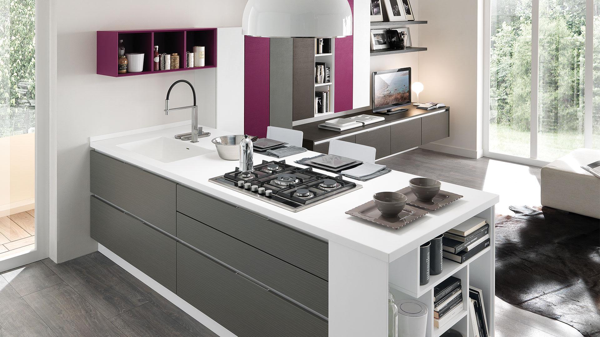 Beautiful Cucina Lube Modello Veronica Contemporary - Home Ideas ...