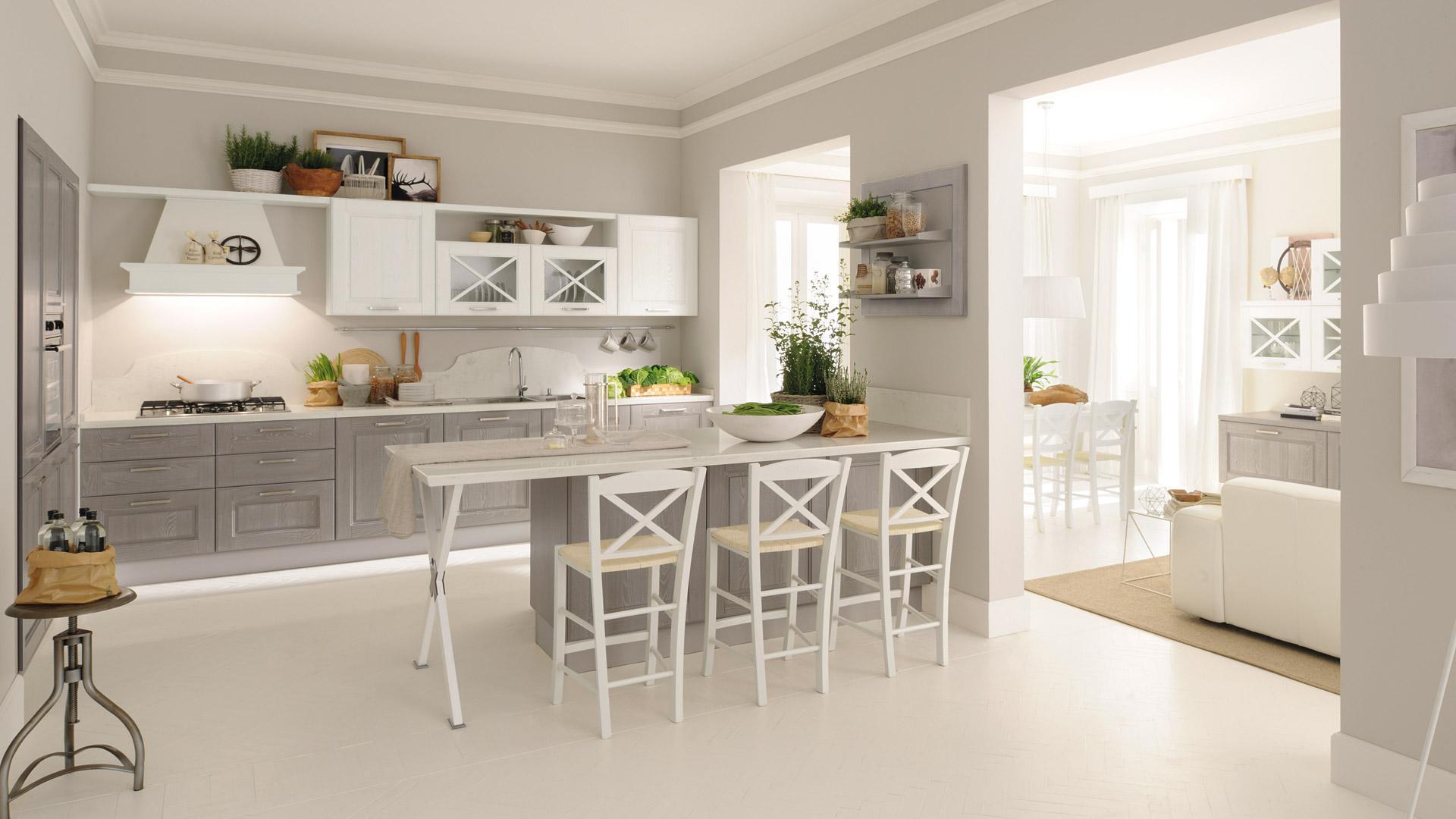 Cucina Country Bianca. Finest Cucina Rustica Bianca Best Cucine ...